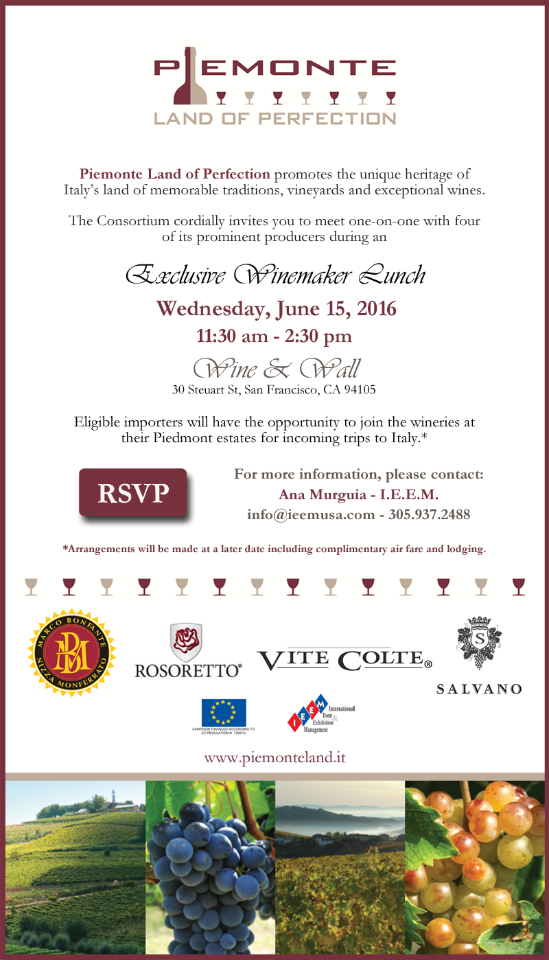 Piedmont Land of Perfection Invitation San Francisco